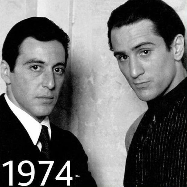 Robert De Niro And Al Pacino. 40 Years Of Friendship (4 pics)