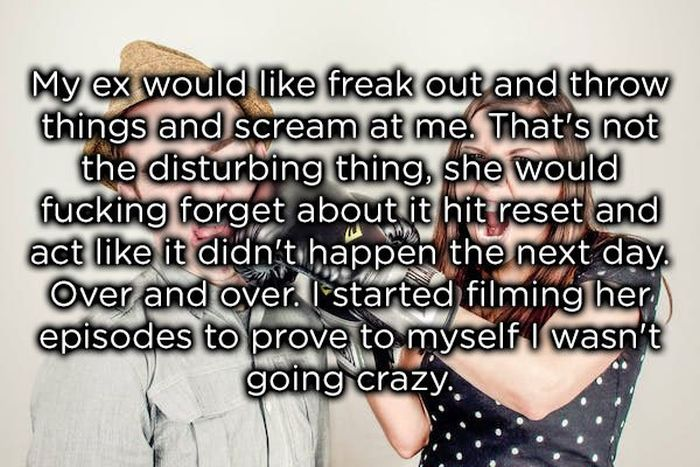 Red Flags From Crazy Women (14 pics)