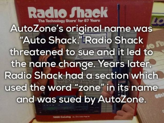 Unknown Facts About Popular Brands (20 pics)