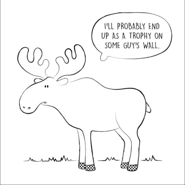 Cute Animals Saying Very Depressing Things (16 pics)