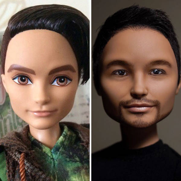 Ukrainian Artist Transforms Popular Dolls Into Real Beauties (25 pics)