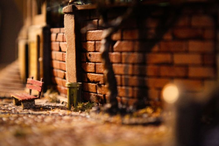 A Modern City Miniature Of The Oscar Wilde's 'Happy Prince' (22 pics)
