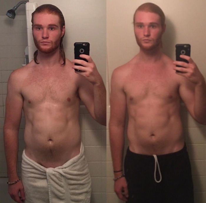 This Guy Has Lost 50lbs (22,6kg) In 3 Years (4 pics)