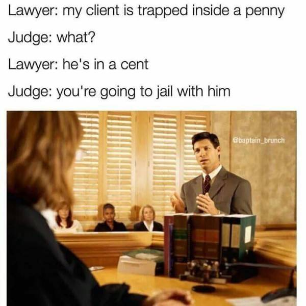 Lawyers' Humor (40 pics)