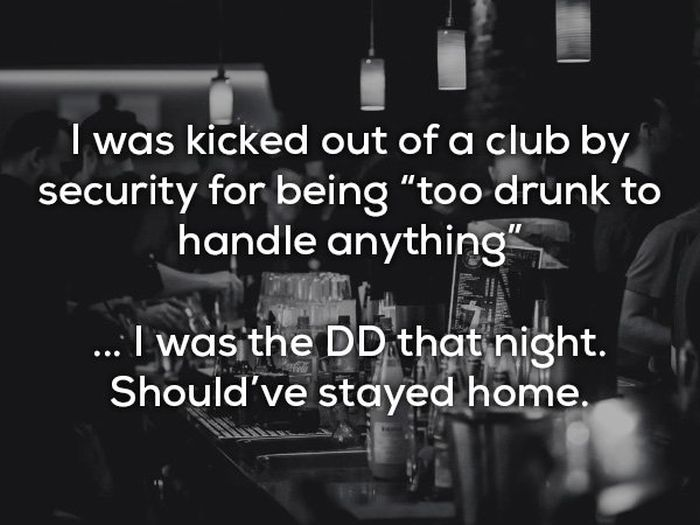 People share their funniest 'I should have stayed home' stories (13 pics)