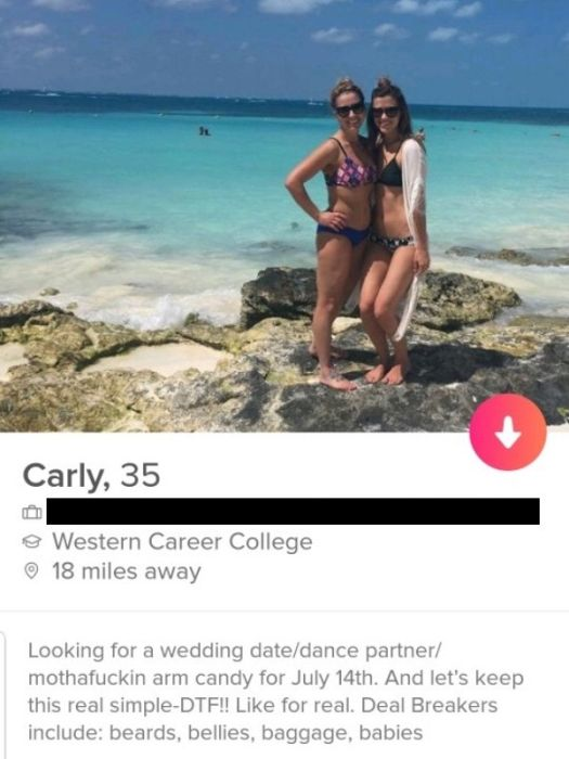 Tinder: Where shame doesn't exist (26 pics)