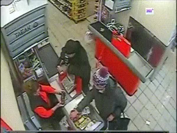 Store Robbery Goes Wrong