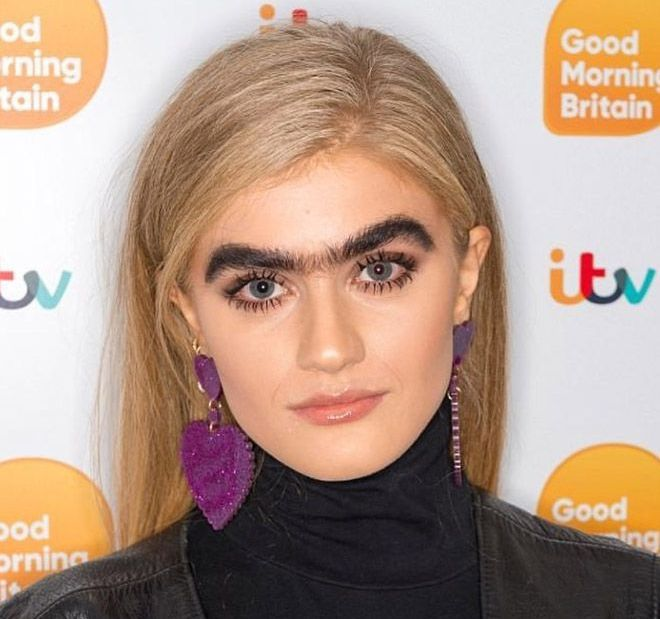 """Unibrow Movement"" Is The Latest Instagram Beauty Trend (20 pics)"