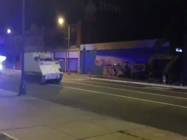 Police Chase Stolen Armored Vehicle Through Virginia Streets