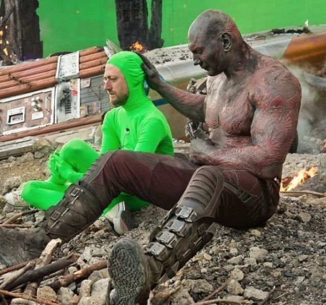 Behind The Scenes Of Marvel Movies (35 pics)