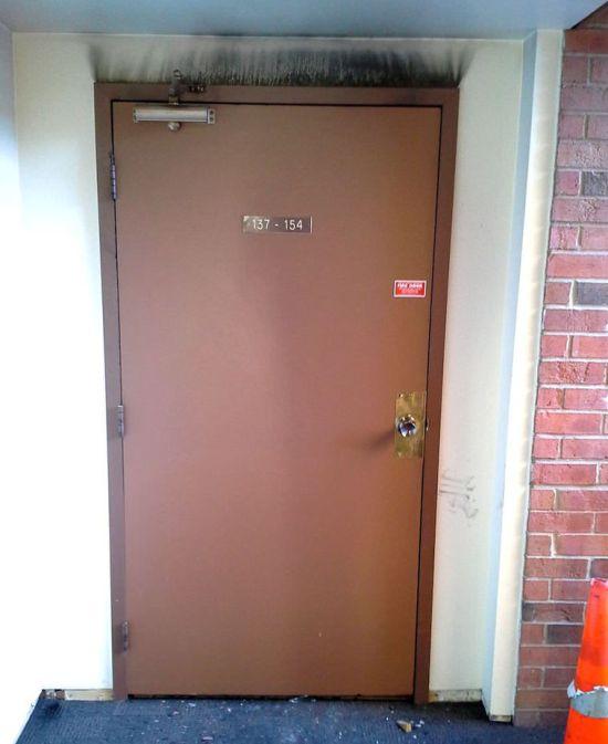 It's A Good Fire Door (2 pics)