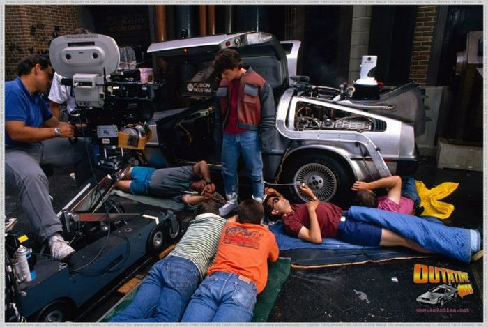 Great Photos For All Back to the Future Fans (46 pics)