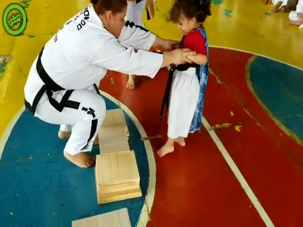 Cutest Taekwondo Kid