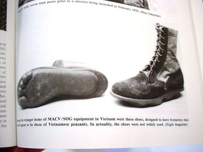 Boots From The US Special Forces Units MACV SOG During The Vietnam War (3 pics)