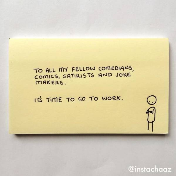 Sticky Notes Created By This Artist Are Too True (42 pics)