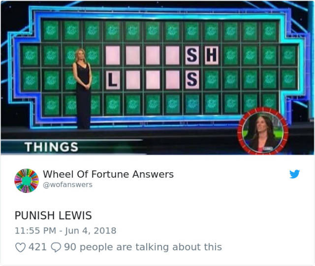 "The Only Correct Answers To ""Wheel Of Fortune"" (38 pics)"