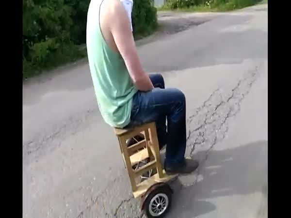 Modified Self Balancing Scooter