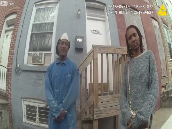 Body-Camera Footage Shows Baltimore Police Officer Run Toward Gunfire