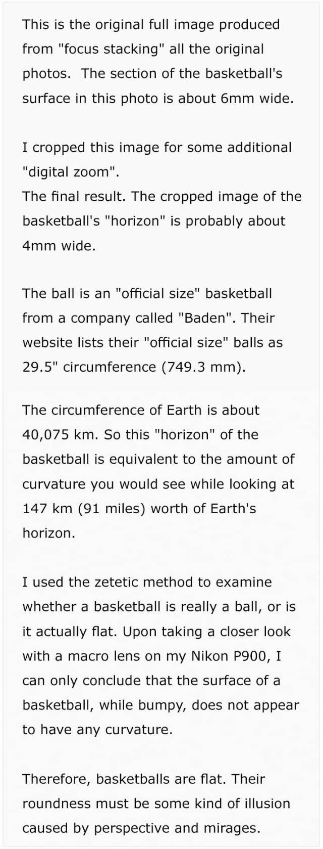 That's How A Basketball Can Be Used To Prove That Earth Isn't Flat (8 pics)