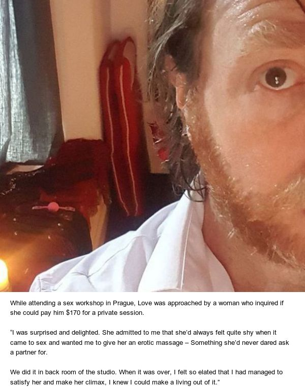 This Man Makes $1,600 A Night As An Escort, Has Slept With Over 1,000 Women (5 pics)