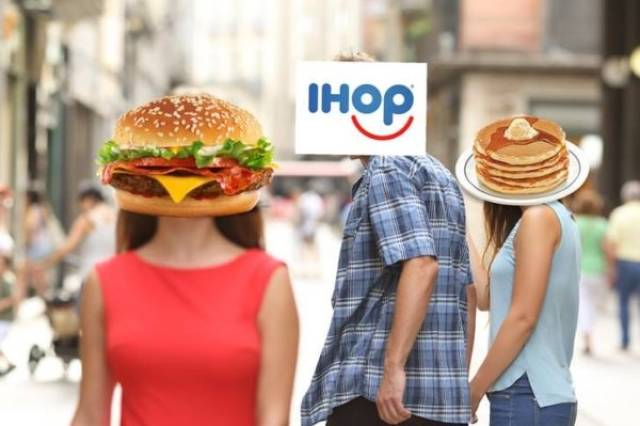 IHOp Changed Their Name And Started A US Burger War (20 pics)