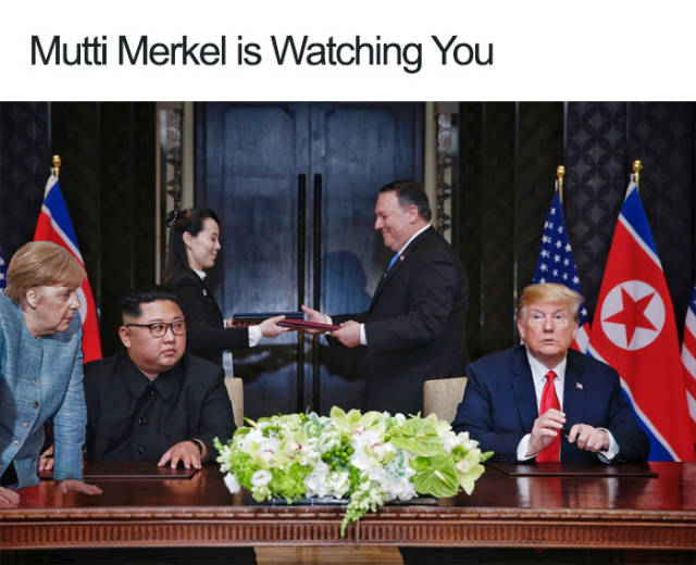 Memes About Trump's Meeting With Kim Jong-Un (45 pics)