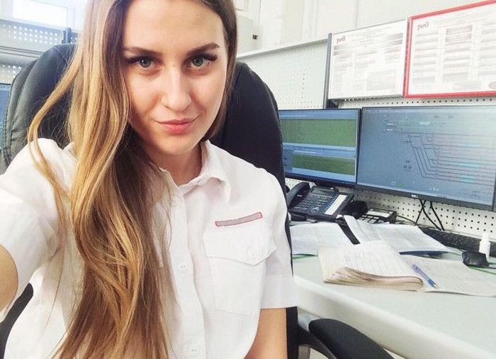 There Are A Lot Of Pretty Employees At Russian Railway (30 pics)