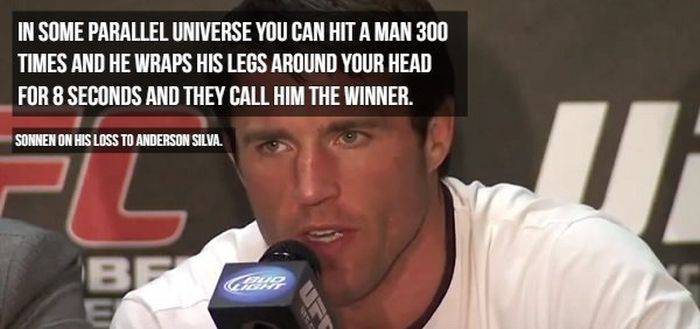 Chael Sonnen's Trash-talking (19 pics)
