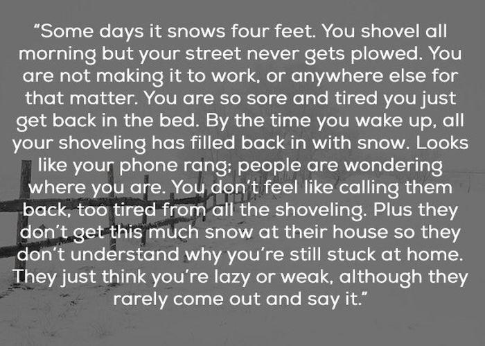 It Explains A Lot About Depression (11 pics)