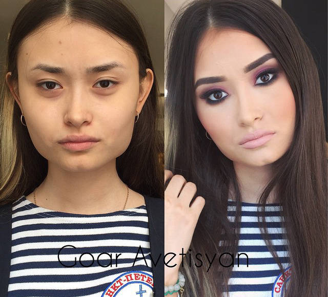 Makeup Makes Difference (30 pics)