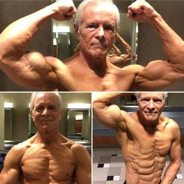 Strong Old Men (15 pics)