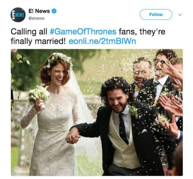 'Game of Thrones' Wedding (12 pics)