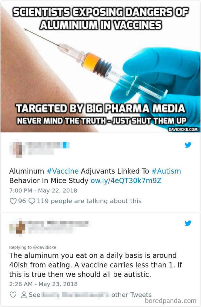 Vaxxers Versus Anti-Vaxxers Is A Never-Ending Battle… (21 pics)