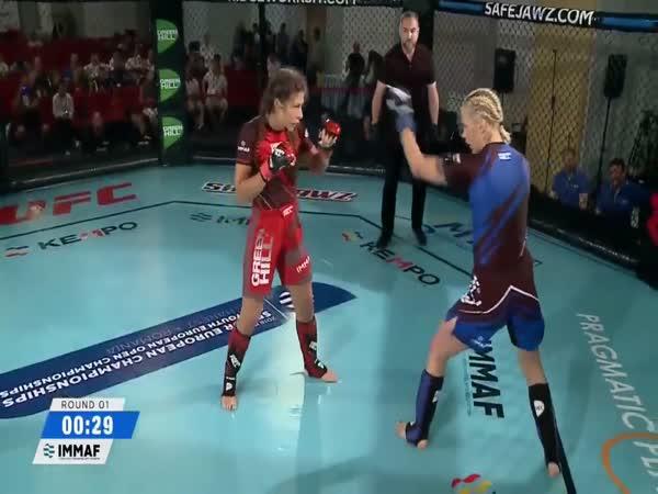 Two Savage Head Kick KOs At 2018 IMMAF Euros