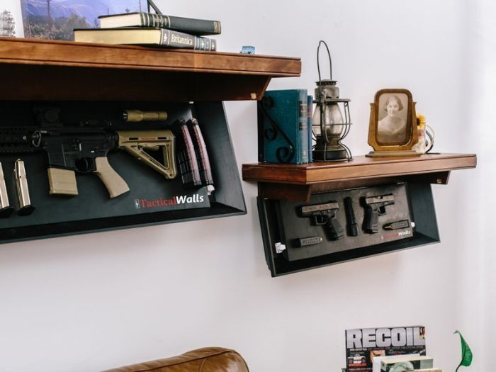 Furniture Perfectly Designed To Hold Weapons (30 pics)