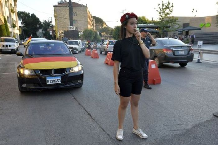 Lebanese Police Girls (10 pics)