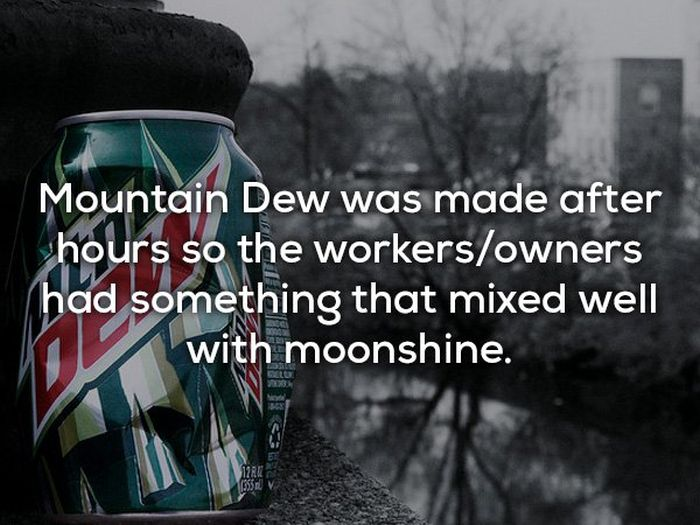 Strange Facts About Brands (19 pics)