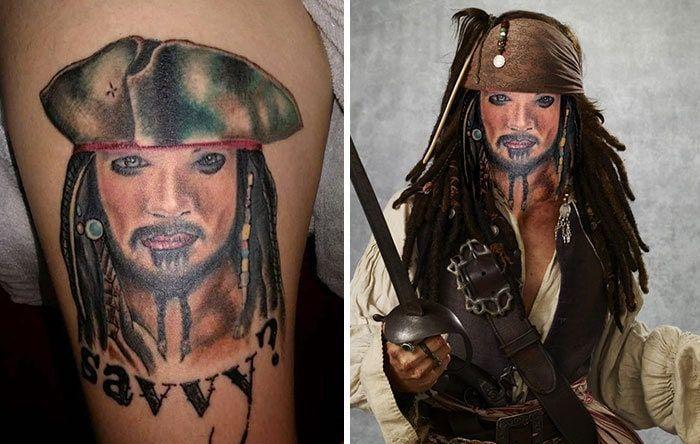Tattoo Face Swaps (22 pics)