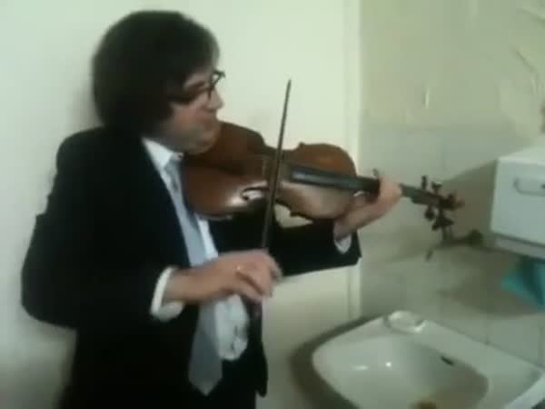 Broken Tap And Violin Concert