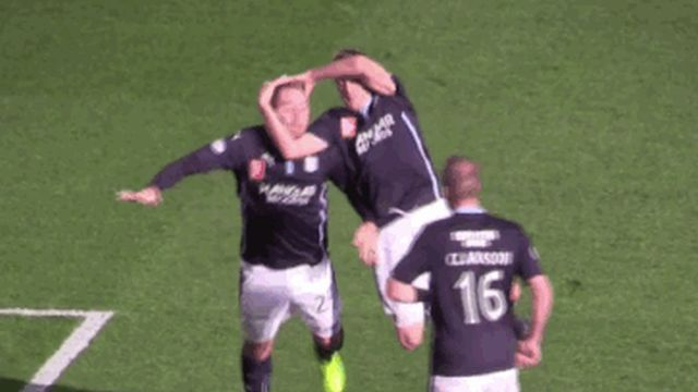 Funny Goal Celebrations (15 gifs)