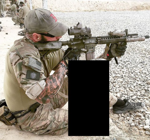 ODA 3126 Sgt. 1st Class Nicholas C. Lavery Has Three Purple Hearts, a Silver Star, a Bronze Star, and a Bronze Star with Valor (3 pics)