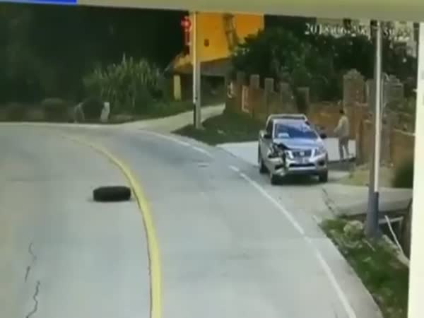 'Wheels of Fortune' Car Crash