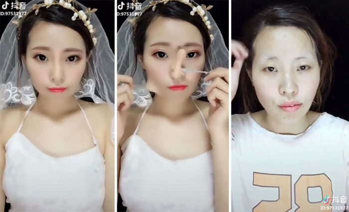 Girls Remove Their Makeup (21 pics)