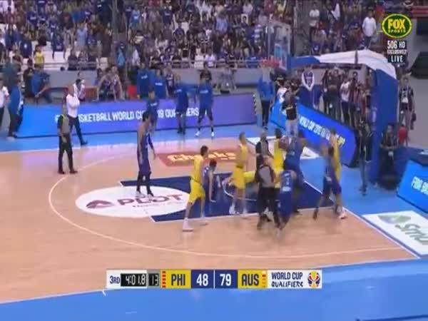 Insane Fight Philippines Vs Australia FIBA World Cup 2019 Asian Qualifiers
