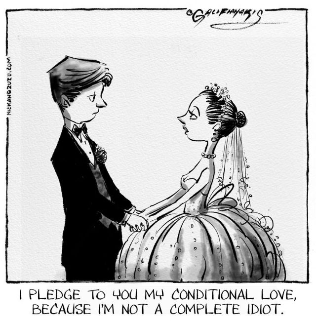 Funny Wedding Cartoons (15 pics)