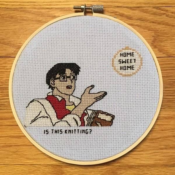 Badass Cross Stitching (19 pics)