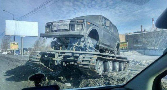 Roads in Russia (36 pics)