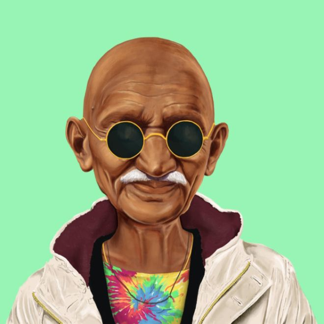 Iconic Leaders Reimagined as Hipsters (19 pics)