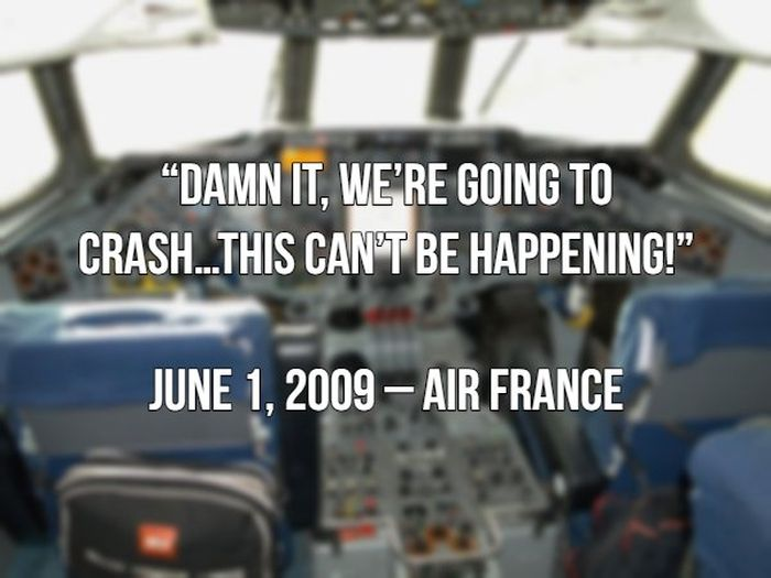 Last Words Spoken By Pilots Before Crashing (20 pics)
