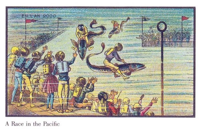 The World Of The Future In This Series Of French Postcards From The 19th Century (32 pics)